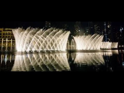 Burj Khalifa | Dubai Mall | Water Dance | Dubai,United Arab Emirates