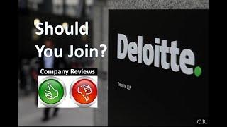 Should you join Deloitte or NOT? ?? ~ Deloitte Company Review