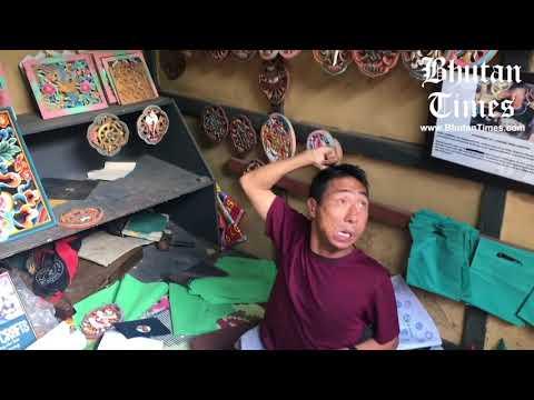 Meet Bhutan's Cerebral Palsy 'foot' Artist Pema Tshering