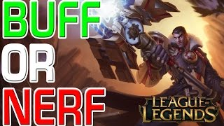 LoL: BUFF OR NERF - Jayce (Patch 5.11) [GER]