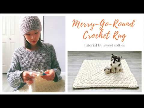 How to Crochet: Merry-Go-Round Technique || Step-by-Step Rug Pattern & Tutorial thumbnail