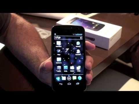 Samsung Galaxy Nexus el telefono oficial de google con android 4.0