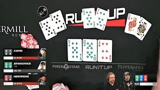My First Time Playing Short Deck Poker! (ACTION!)