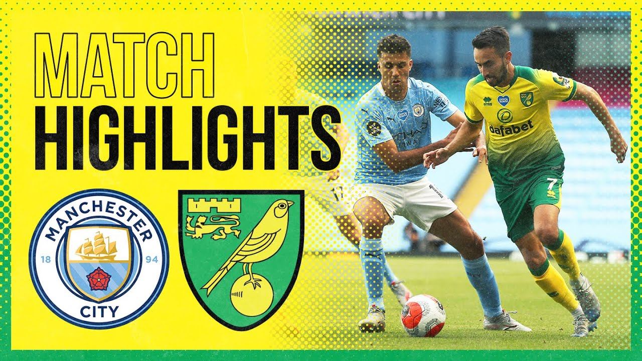 HIGHLIGHTS | Manchester City 5-0 Norwich City