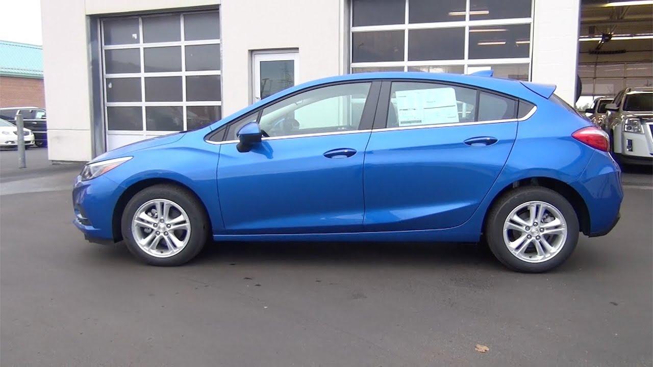 2018 Chevrolet Cruze Hatchback Lt Kinetic Blue Youtube