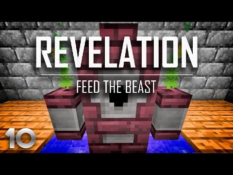 FTB Revelation EP10 Early Game Flight + Potions