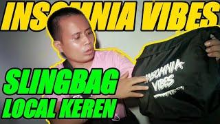Review SLINGBAG INSOMNIA VIBES ART Terbaru | Local Bran Instagram :...