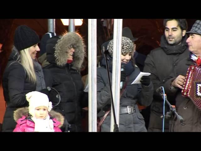 Gambatesa maitunat 1-1-2015: canzone la giacchetta squadra sem sempr nuy