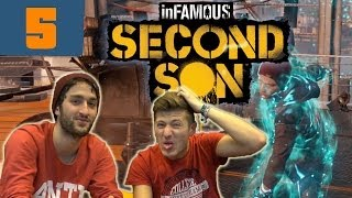 InFamous Second Son Let´s Play #005 [GERMAN] - RIESENRAKETE!