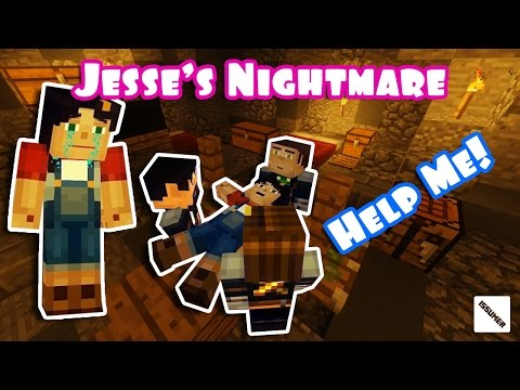 Jesse's Nightmare: Kidnapped by Evil Aiden!