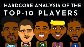 Top 10 NBA players of 2020