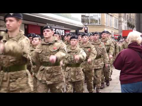 Newcastle Remembrance Day Parade 2016