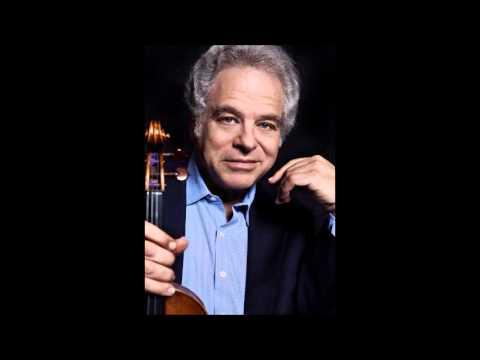 Itzhak Perlman, Bach Sonata No.2 in A minor BWV 1003