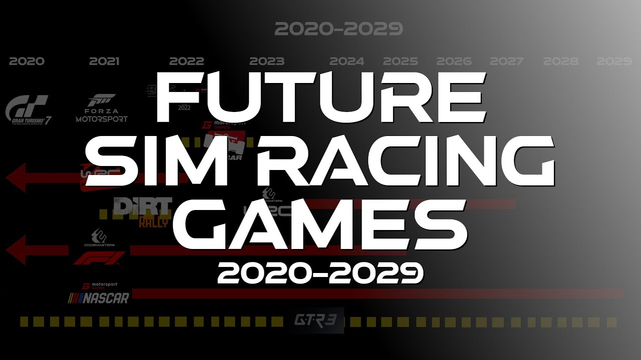 VFuture Sim Racing Games 2020 2029 – YouTube