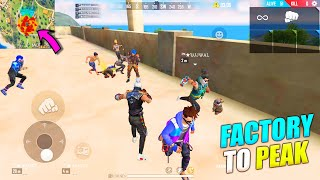 Factory To Peak Booyah Journey   King Of Factory Fist Fight P.K. GAMERS   Garena Free Fire
