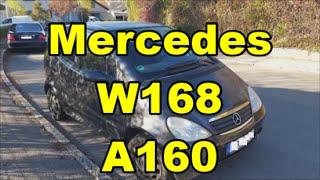 Mercedes Benz W168 A160 A-Klasse Lamellendach