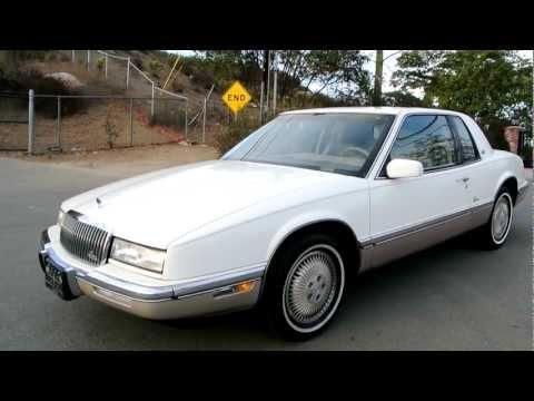 1990 Buick Riviera 1 Owner 73K Orig Miles 3800 V6 Oldsmobile Toronado GM Classic