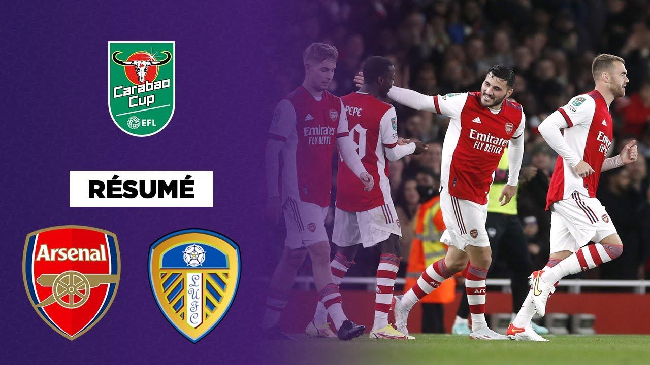 Download 🏆🇬🇧 Résumé - Carabao Cup : Arsenal se défait de Leeds et se qualifie pour les quarts de finale !