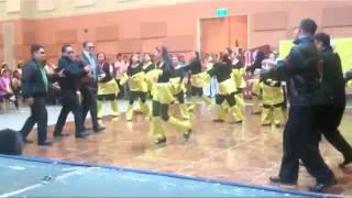 Dance of the 70s - Annie Batungbakal (or batumbakal?), Dancing Queen, Bee Gees, etc -