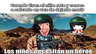 LOS NIÑOS NECESITAN UN HEROE - MEMES DE FREE FIRE #1 | AlexGo