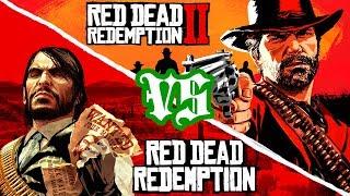 Red Dead Redemption 2 VS 1 REVIEW/COMPARISON