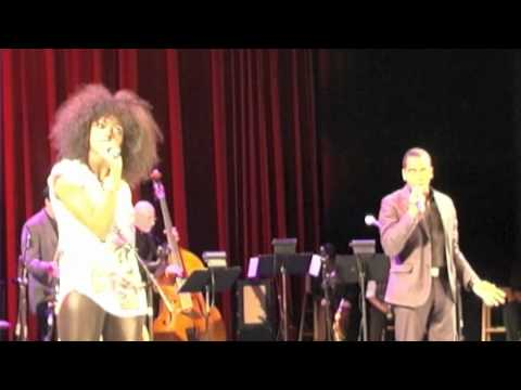 Daniel Breaker and Condola Rashad sing Baby Its Cold Outside!
