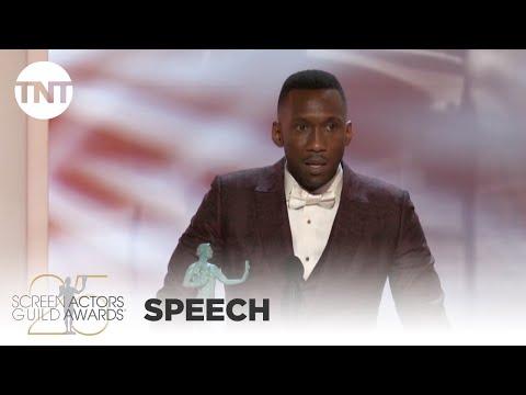 Mahershala Ali: Award Acceptance Speech   25th Annual SAG Awards   TNT