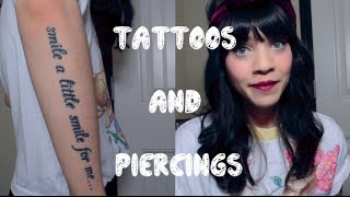 One of Anastasjia Louise's most viewed videos: Tattoos and Piercings Tag