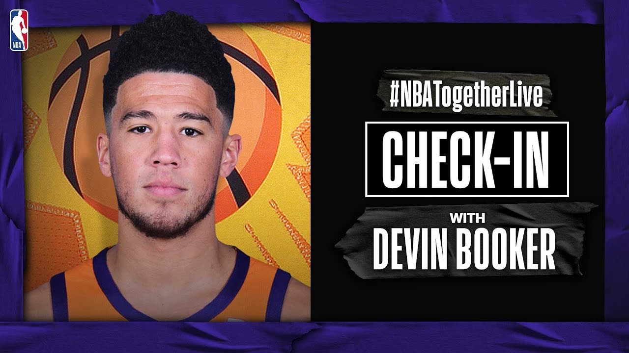 #NBATogetherLive Check-In With Devin Booker