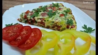 Вкусный завтрак для всей семьи - яичница-болтунья