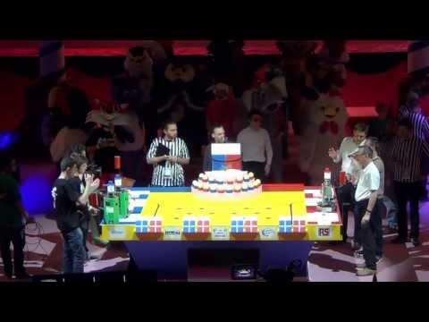 2013 - Université d'Angers vs Robotic System - Coupe de France de robotique 2013