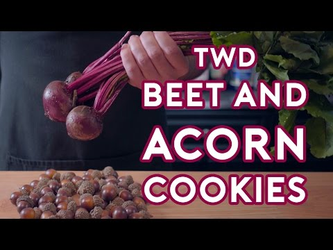 Binging with Babish: Carols Beet & Acorn Cookies (feat. Ashwin Enjoys Nature)