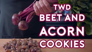 Binging with Babish: Carol's Beet & Acorn Cookies (feat. Ashwin Enjoys Nature)