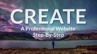 How To Make A WordPress Website With Elementor Page Builder Step By Step!