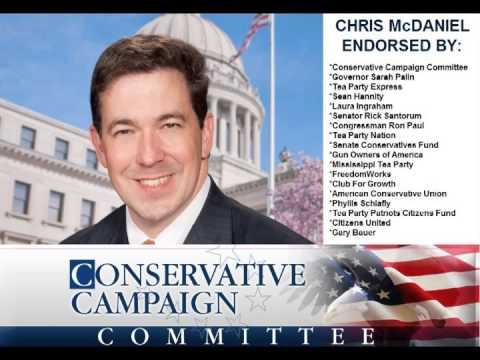 Chris McDaniel radio ad by CCC PAC