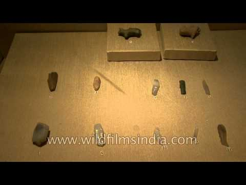 Antiquities from all the major periodic divisions of Indian history (prehistory to modern history)