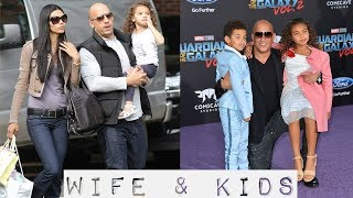 Vin Diesel wife and kids 2017   Family Lifestyle