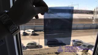 Зеркальная пленка WOWfil R Blue15(Видеокаталог пленок от Компании Гермес., 2015-04-15T10:45:38.000Z)