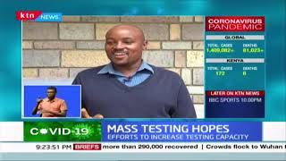 Mass Testing Hopes: KEMRI manufacturing testing kits for COVID-19