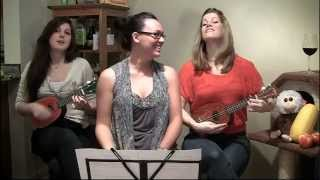 Video 33: WHO'S THAT CHICK by DAVID GUETTA FT. RIHANNA (Ukulele Cover by The Fruity Ukuladies)