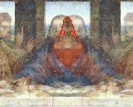 Chitauri reptilian face revealed ! - YouTube Da Vinci Paintings Secrets