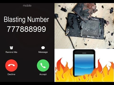 777888999 Reality of the Blasting | Why People Afraid the number ????? ( In  Hindi )