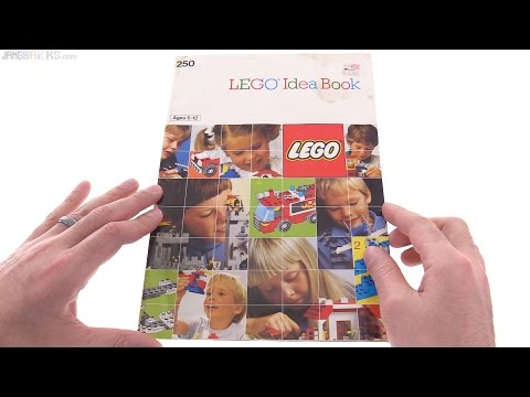 A look through a LEGO Idea Book from 1987