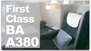 british airways a380 first class review