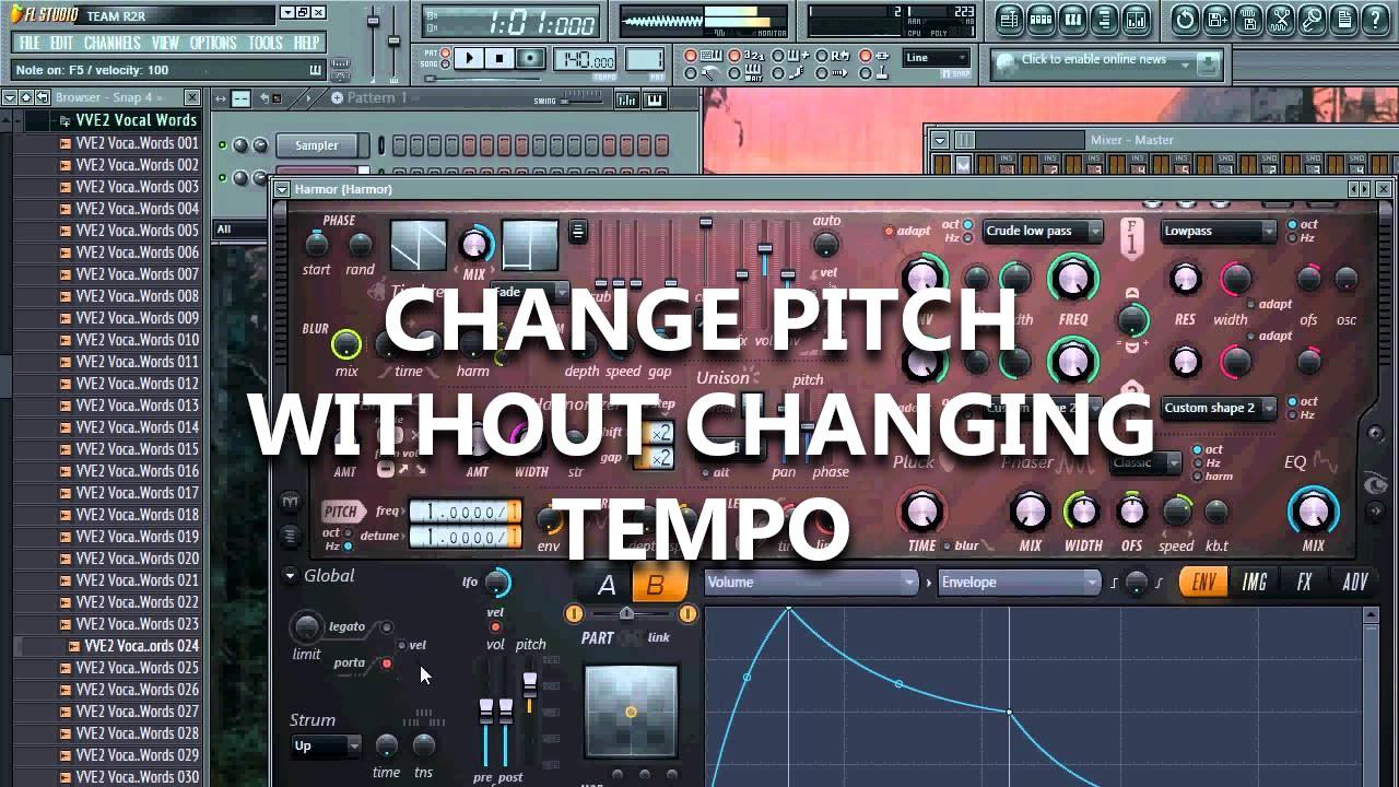 pitch changer online no download