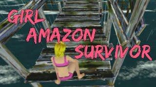 どこでもおしっこする女 - Girl Amazon Survivor - クソゲーアワー 野ション 検索動画 20