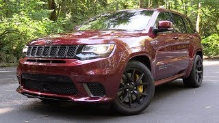 2018 Jeep Grand Cherokee Trackhawk: Start Up, Test Drive & In Depth Review