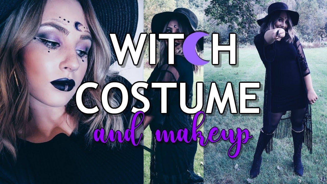 Diy Witch Costume Makeup 2018 Murtober Leah Murdy