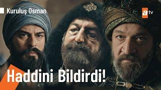Sultanın huzurunda Moğol valisine haddini bildirdi! - @Kuruluş Osman  57. Bölüm