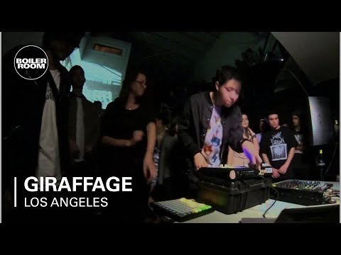 giraffage boiler room live show